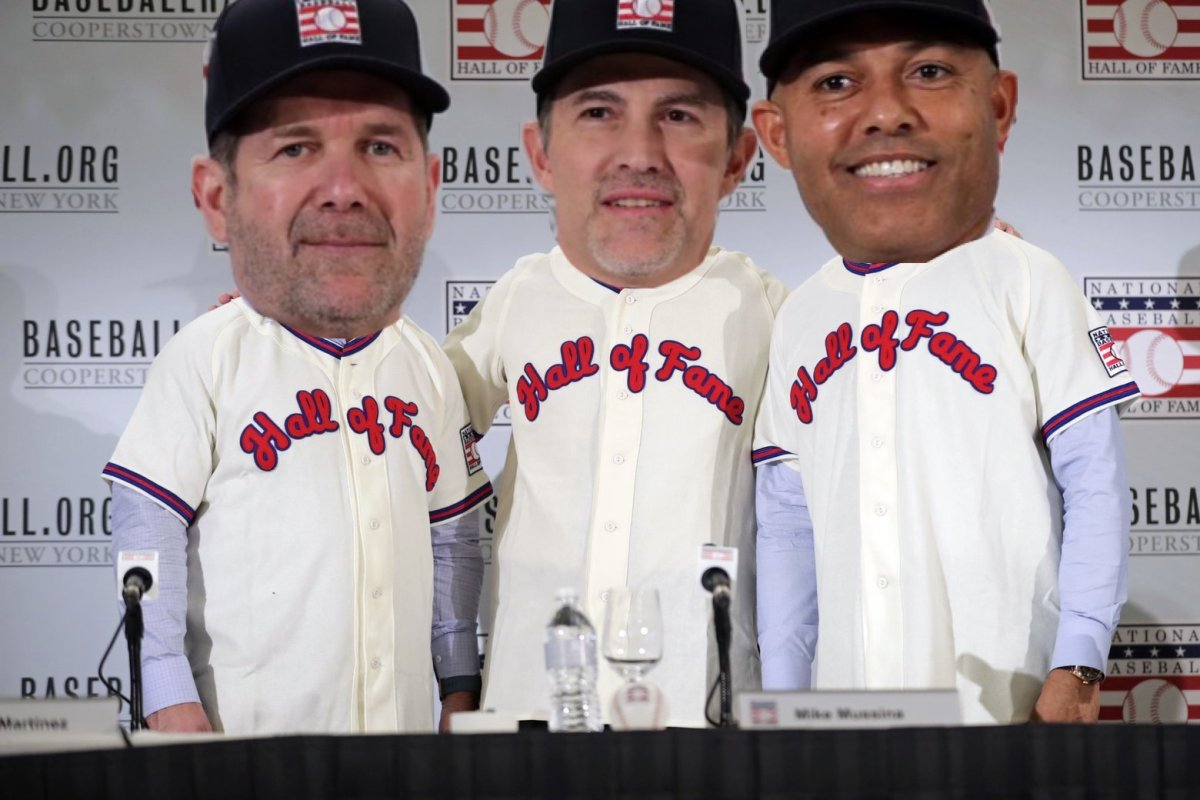 Mike Mussina And Edgar Martinez Have No Business Being In The Hall Of Fame And Mariners Fans Will Throw A Fit AboutThis
