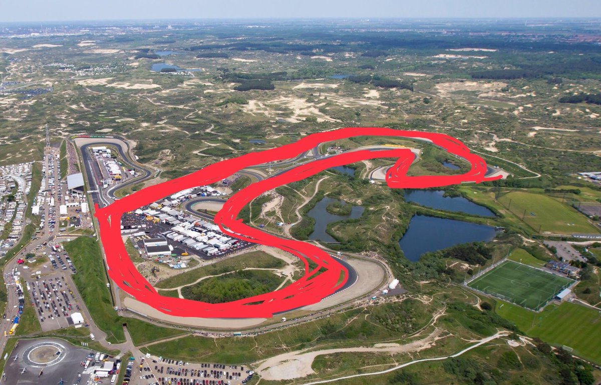 Formula 1 To Race At Zandvoort in 2020, A Penis ShapedTrack