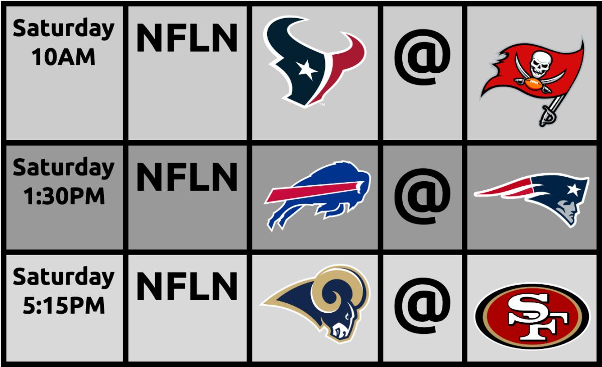 BREAKING:  I BOTCHED THE WEEK 16 NFL TVSCHEDULE